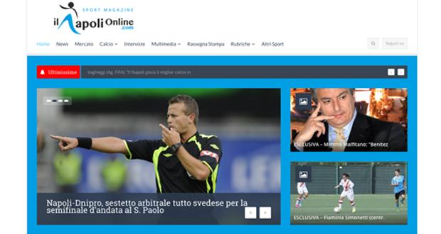 Il nostro lavoro su Il Napoli Online